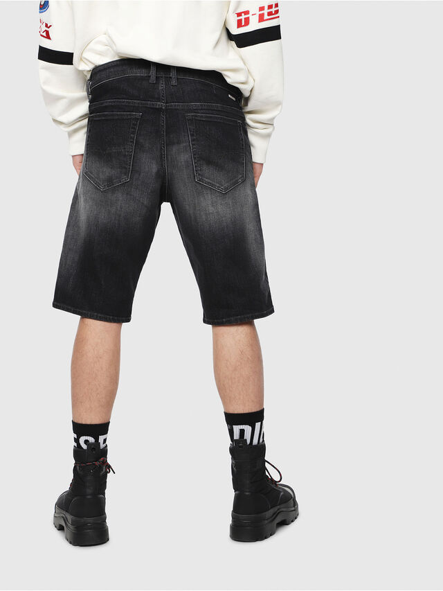 Diesel - THOSHORT, Black/Dark grey - Shorts - Image 2