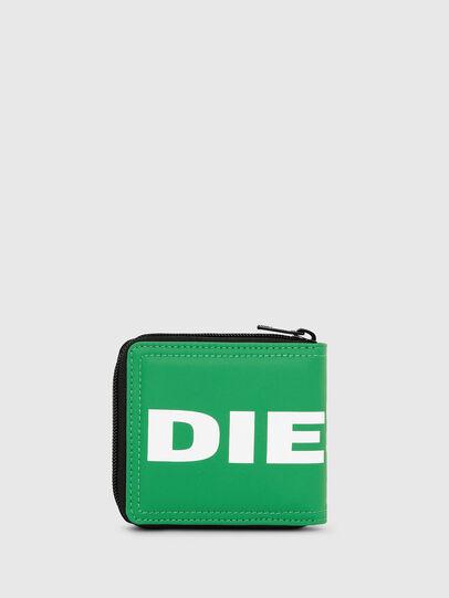 Diesel - ZIPPY HIRESH S, Green - Zip-Round Wallets - Image 2