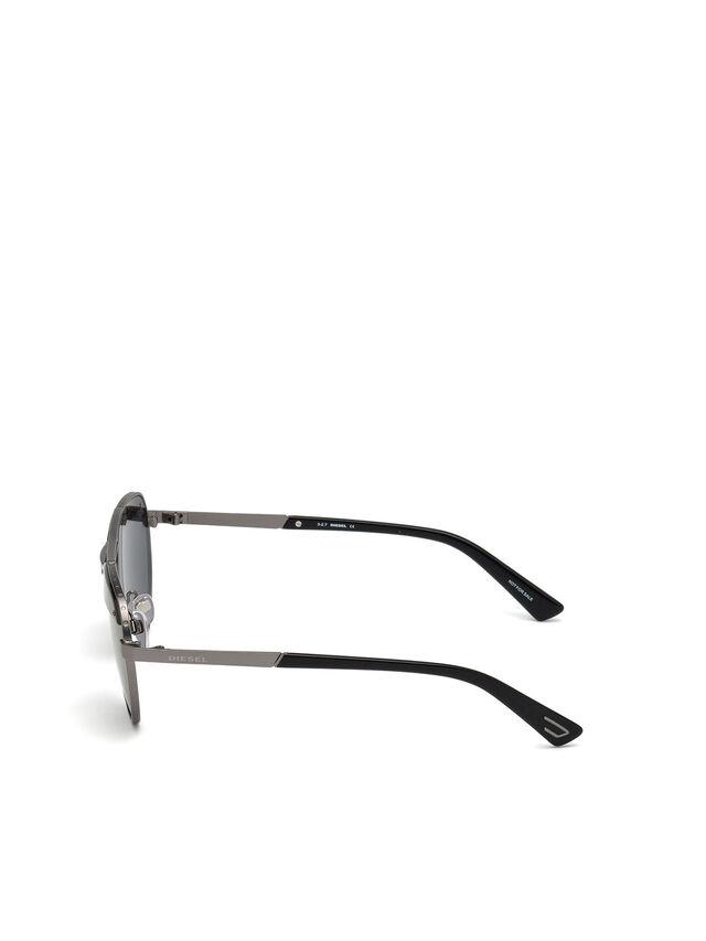 Diesel - DL0261, Black/Grey - Sunglasses - Image 3