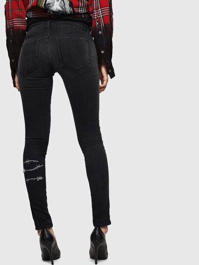 Diesel - Slandy Low 069GH, Black/Dark grey - Jeans - Image 2