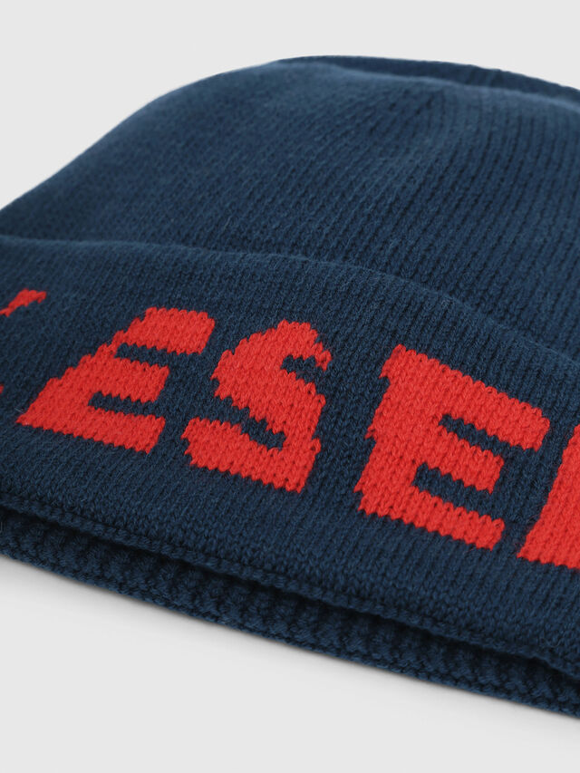 Diesel - K-CODER-C, Dark Green - Knit caps - Image 3