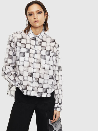 Diesel - C-SUNNY, White - Shirts - Image 1