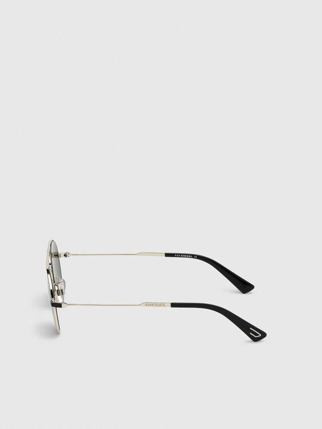 Diesel - DL0301, Black/Gold - Sunglasses - Image 3