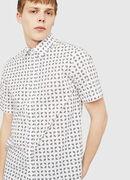 S-AKURA-SHORT, White/Black - Shirts