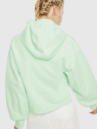 Diesel - F-DINIE-A, Green Fluo - Sweaters - Image 2
