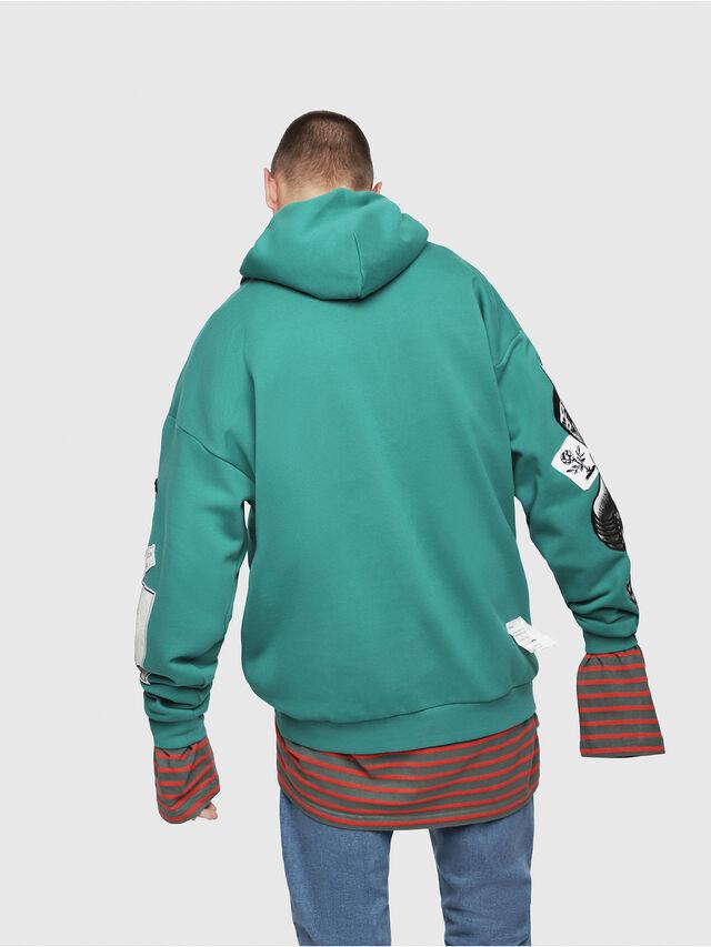 Diesel - S-JACK-YA, Water Green - Sweaters - Image 2