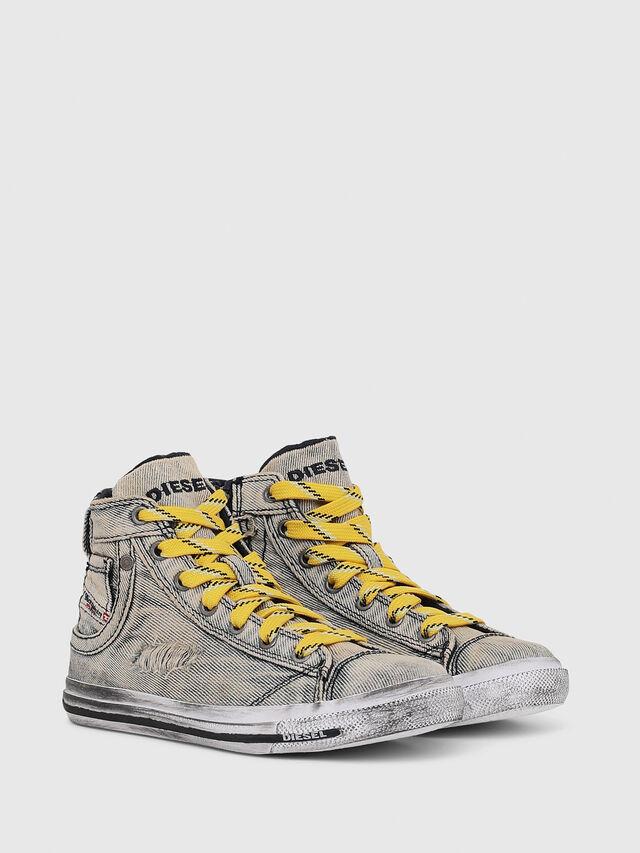 Diesel - SN MID 20 EXPOSURE Y, Grey Jeans - Footwear - Image 2