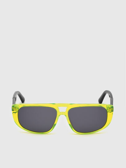 Diesel - DL0306, Yellow Fluo - Kid Eyewear - Image 1