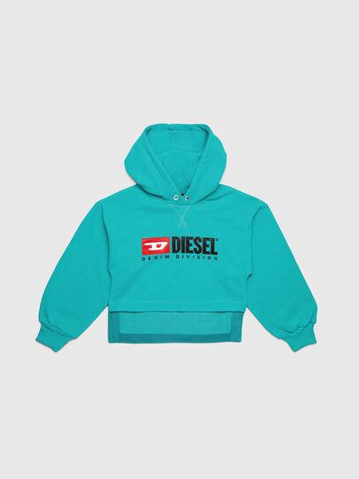 Diesel - SDINIEA, Water Green - Sweaters - Image 1