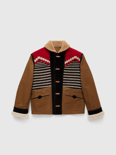 Diesel - DxD-1, Brown - Jackets - Image 1