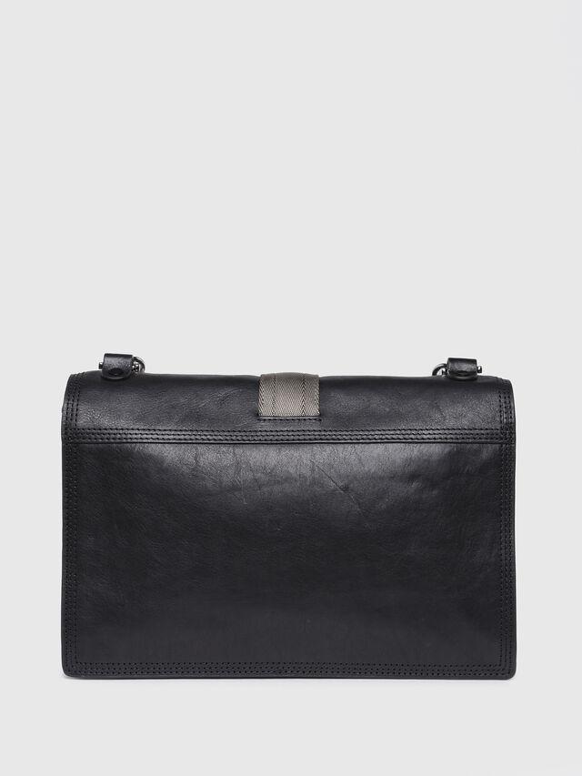 Diesel - MISS-MATCH CROSSBODY, Black Leather - Crossbody Bags - Image 2