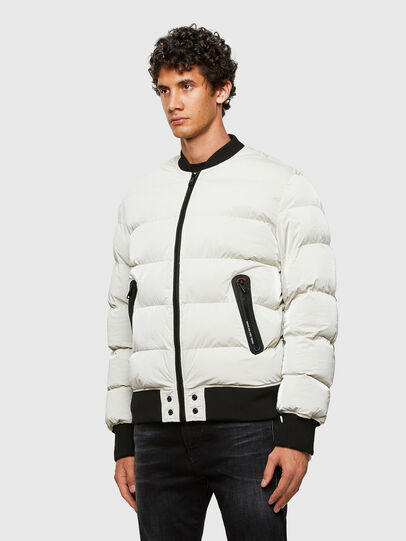 Diesel - W-ON-A, White - Winter Jackets - Image 7