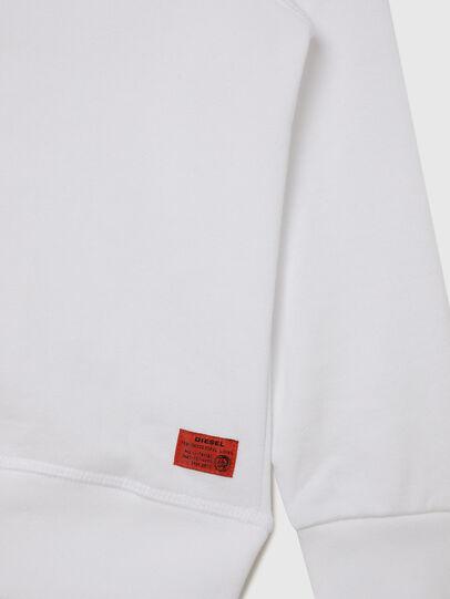 Diesel - UMLT-SBRANDONZ, White - Sweaters - Image 4