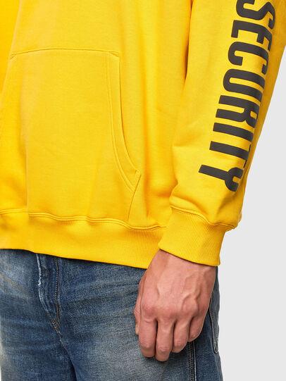 Diesel - S-UMMER-N72, Yellow - Sweaters - Image 4