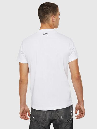 Diesel - T-DIEGO-B12, White - T-Shirts - Image 2