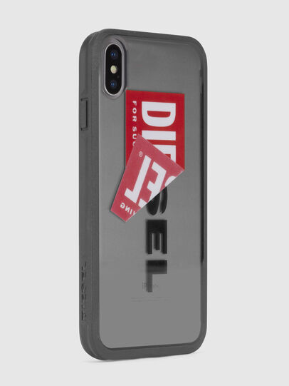 Diesel - STICKER IPHONE X CASE, Black - Cases - Image 4
