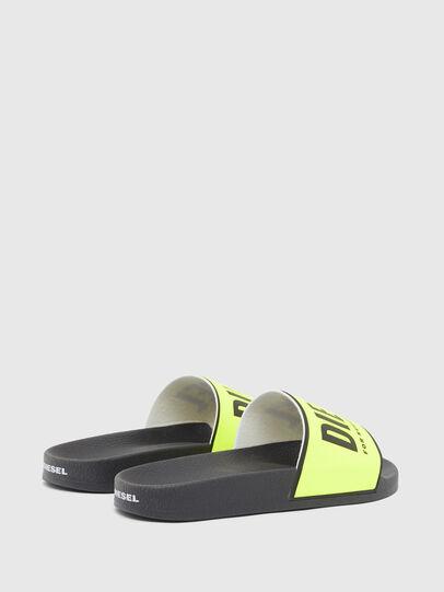 Diesel - SA-VALLA W, Black/Yellow - Slippers - Image 3