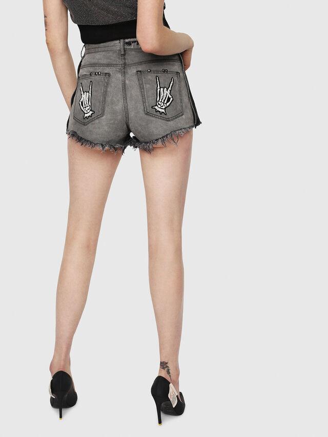 Diesel - DE-EISE-B, Black/Dark grey - Shorts - Image 2