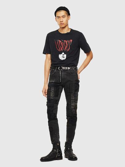 Diesel - T-JUST-J3, Black - T-Shirts - Image 9