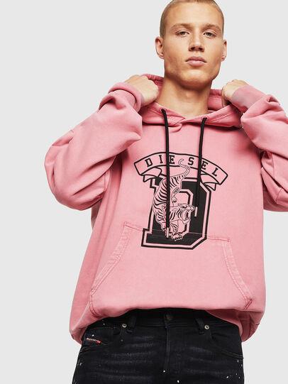 Diesel - S-ALBY-B8, Pink - Sweaters - Image 3