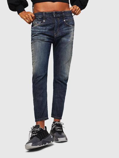 Diesel - Fayza 0096U, Dark Blue - Jeans - Image 1
