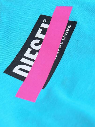 Diesel - TJUSTDIXB, Azure - T-shirts and Tops - Image 3