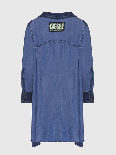 Diesel - DE-NILLA, Light Blue - Denim Shirts - Image 2