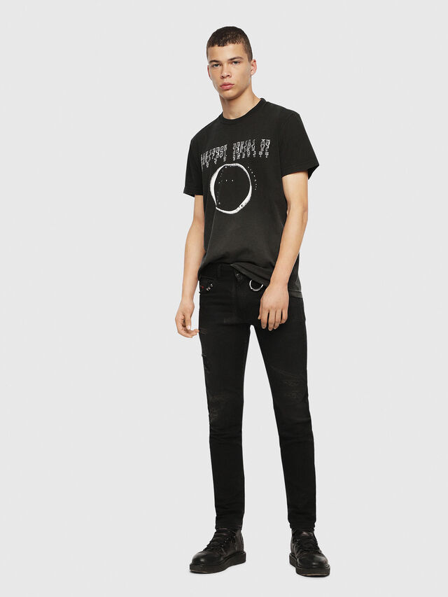 Diesel - SE-DIEGO, Black - T-Shirts - Image 5