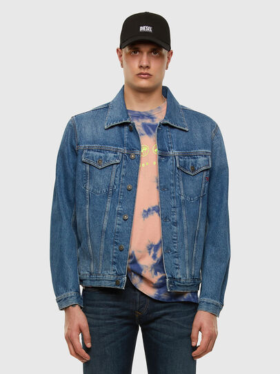 Diesel - D-SAL, Light Blue - Denim Jackets - Image 5