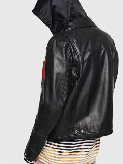 Diesel - L-SOLOVE,  - Leather jackets - Image 2