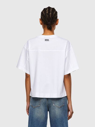 Diesel - T-BOWLESS-VO, White - Tops - Image 2