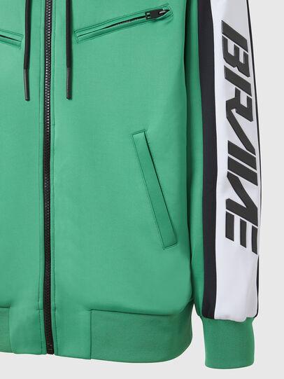 Diesel - S-STEEL, Green - Sweaters - Image 4