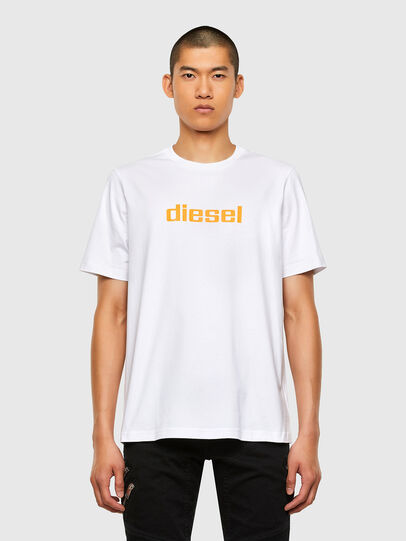 Diesel - T-JUST-N45, White - T-Shirts - Image 1