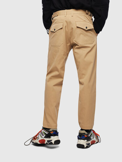 Diesel - P-CHARLIE, Light Brown - Pants - Image 2
