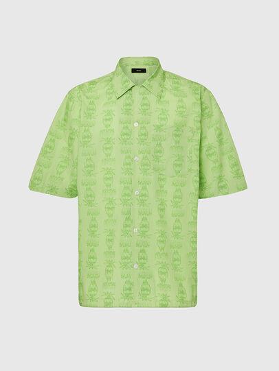 Diesel - S-ROHAD-C, Green - Shirts - Image 1