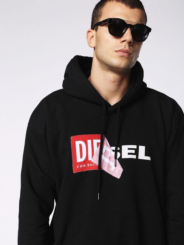 Diesel - DL0251, Bright Black - Eyewear - Image 5