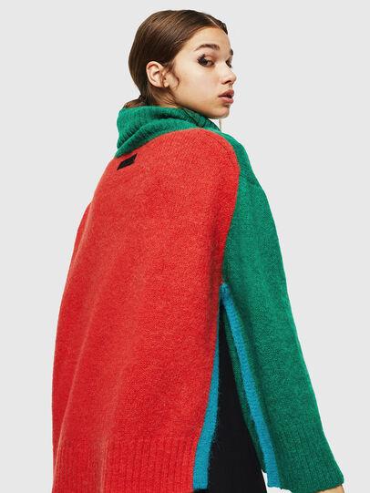 Diesel - M-PERSIA, Green/Red - Knitwear - Image 2