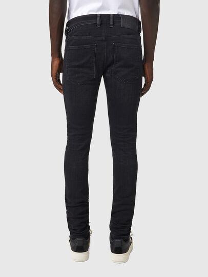 Diesel - Sleenker 09A89, Black/Dark grey - Jeans - Image 2