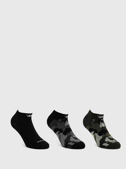 Diesel - SKM-GOST-THREEPACK, Dark grey - Socks - Image 1