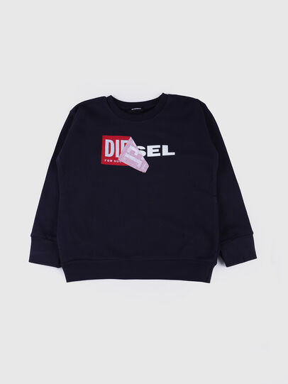 Diesel - SALLY OVER, Navy Blue - Sweaters - Image 1
