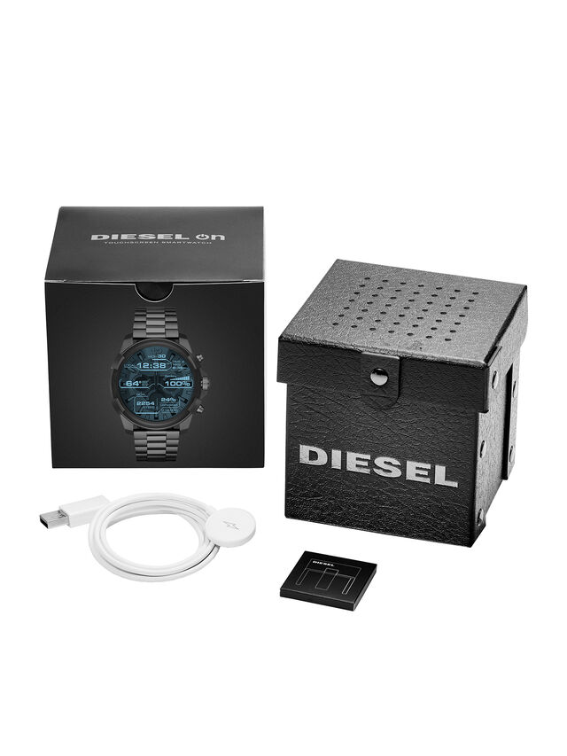 Diesel - DT2004, Metal Grey - Smartwatches - Image 5