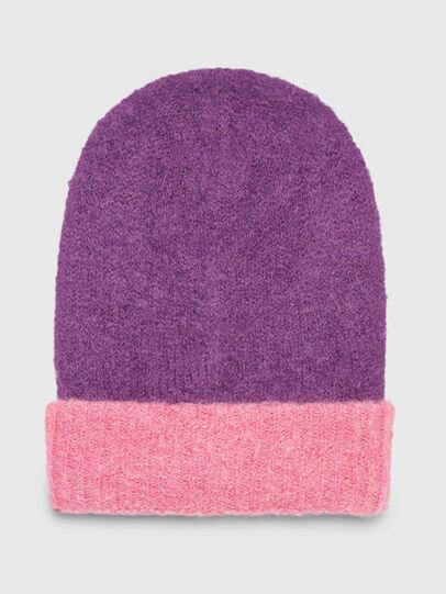 Diesel - K-FLUFS, Violet - Knit caps - Image 1