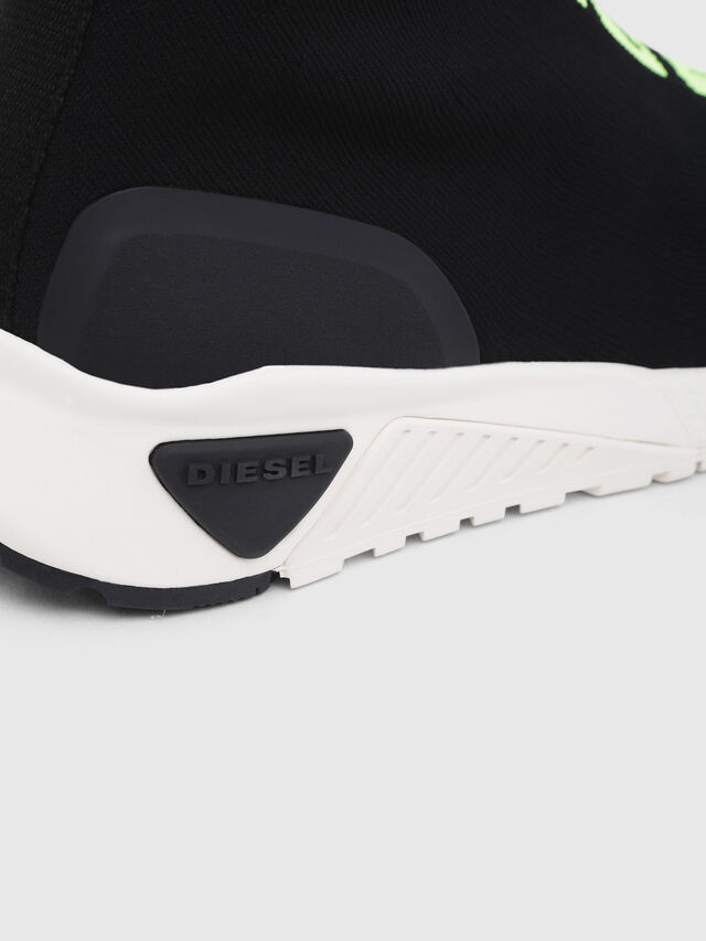 Diesel - S-KB MID ATHL SOCK, Black - Sneakers - Image 5