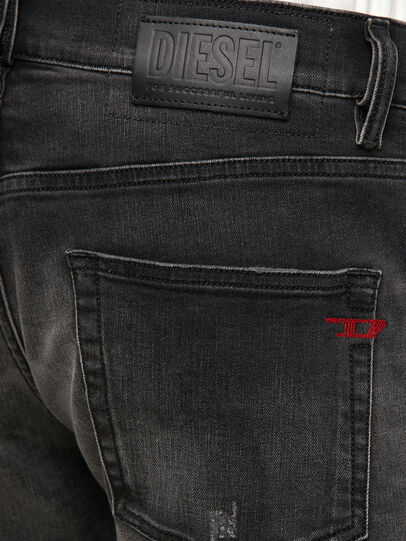 Diesel - D-Strukt 069RC, Black/Dark grey - Jeans - Image 4