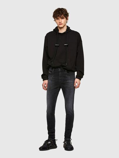 Diesel - D-Istort 069SB, Black/Dark grey - Jeans - Image 5