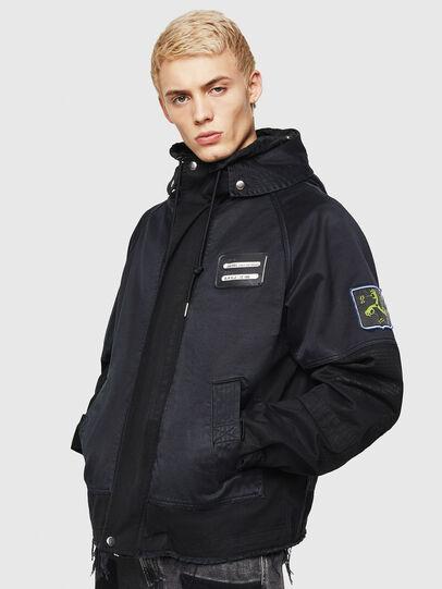 Diesel - J-SIVILL-SOL, Black - Jackets - Image 1