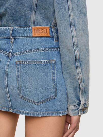Diesel - DE-EISY, Light Blue - Skirts - Image 3