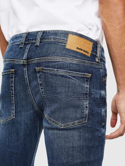 Diesel - Sleenker 0095F, Dark Blue - Jeans - Image 4