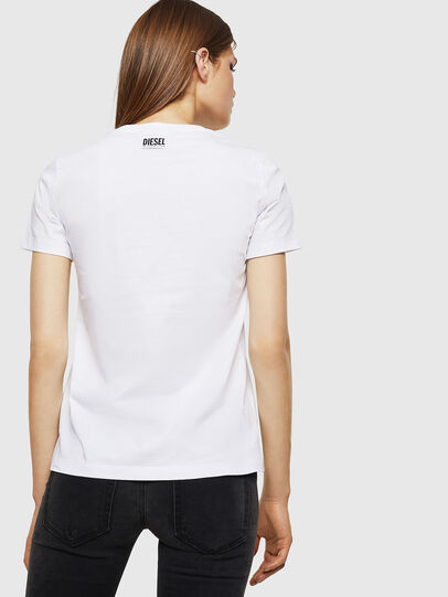 Diesel - T-SILY-WK, White - T-Shirts - Image 2