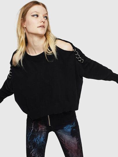 Diesel - M-NETTY, Black - Knitwear - Image 6